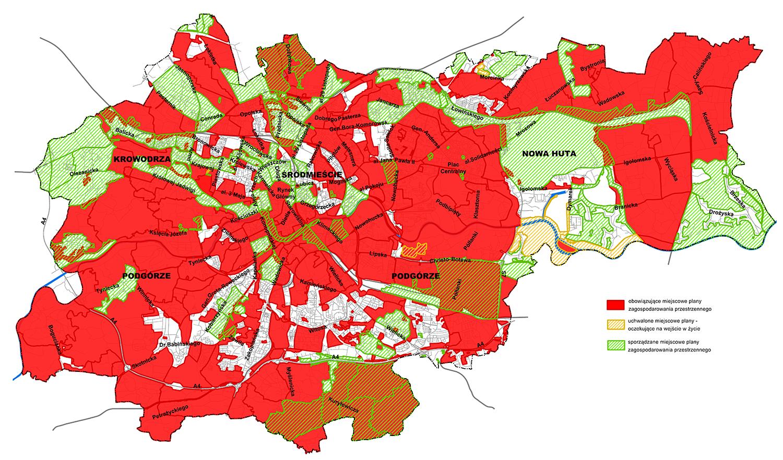 Mapa zbiorcza z planami