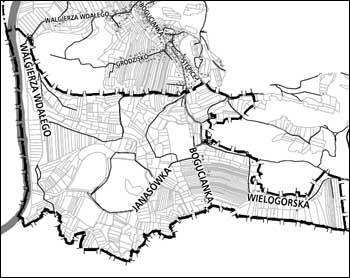 Obszar i granice planu
